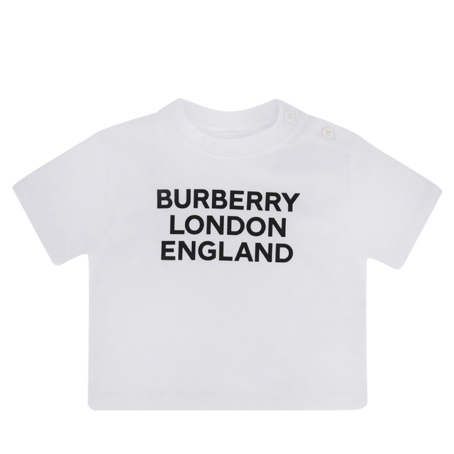 Picture of Burberry 8028819 baby shirt white