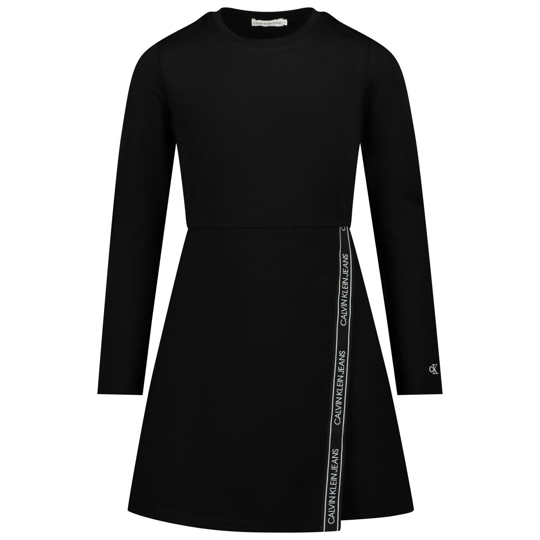 Picture of Calvin Klein IG0IG00718 kids dress black
