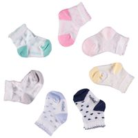 Picture of Story Loris 21031 baby sock light pink