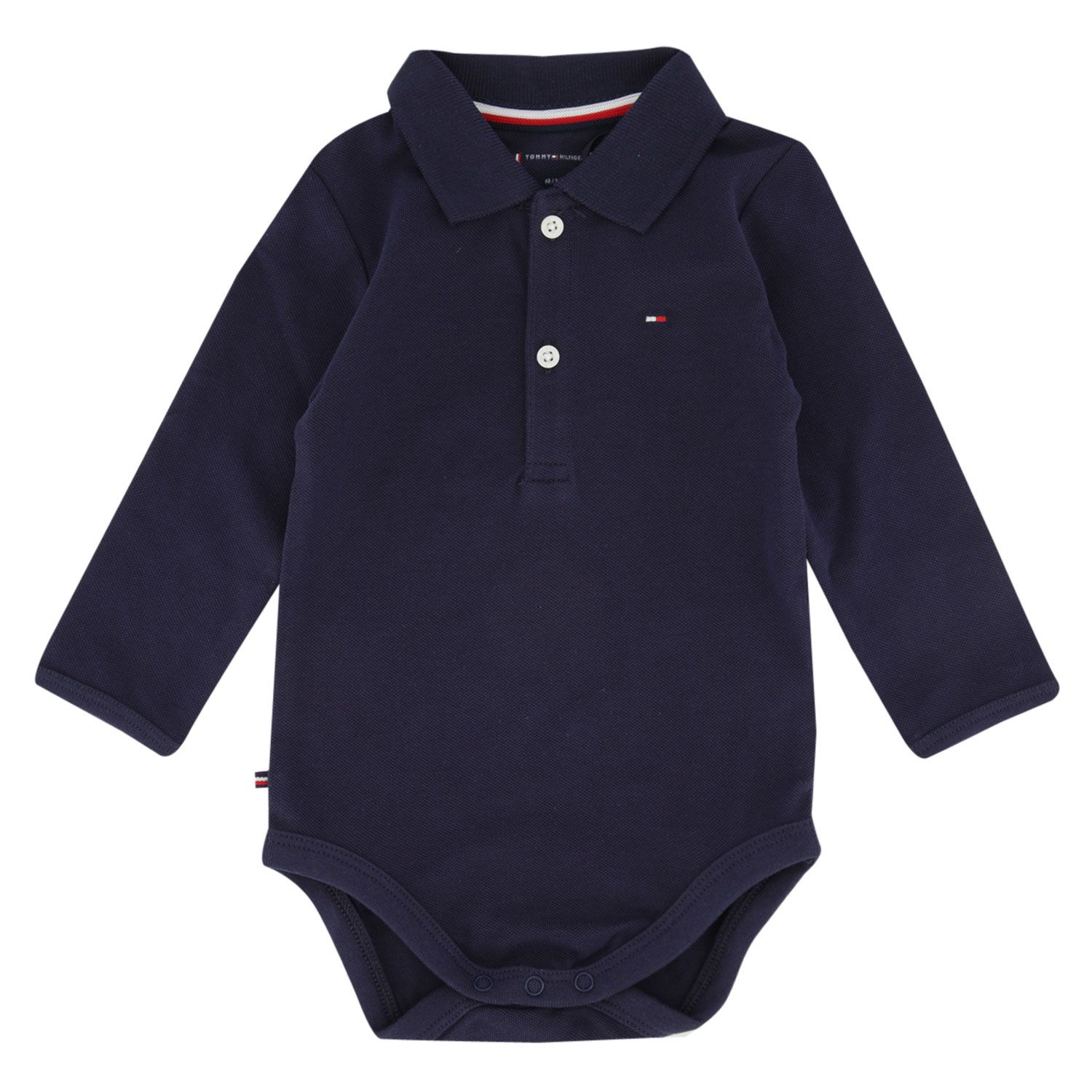 Picture of Tommy Hilfiger KN0KN01176 rompersuit navy