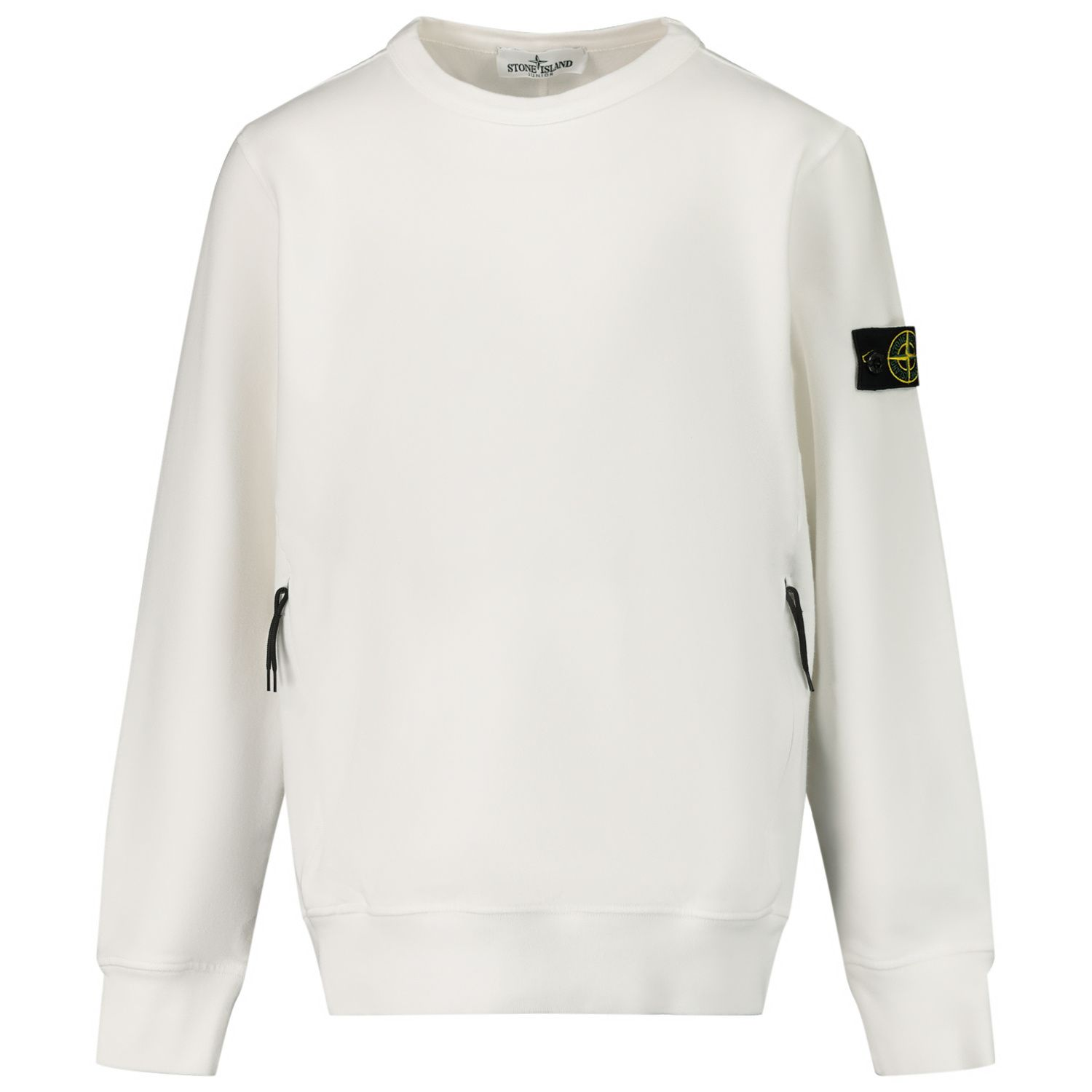 Picture of Stone Island MO731662542 kids sweater white