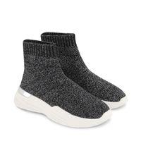 Picture of Mallet MK3030BLKGLT kids sneakers black