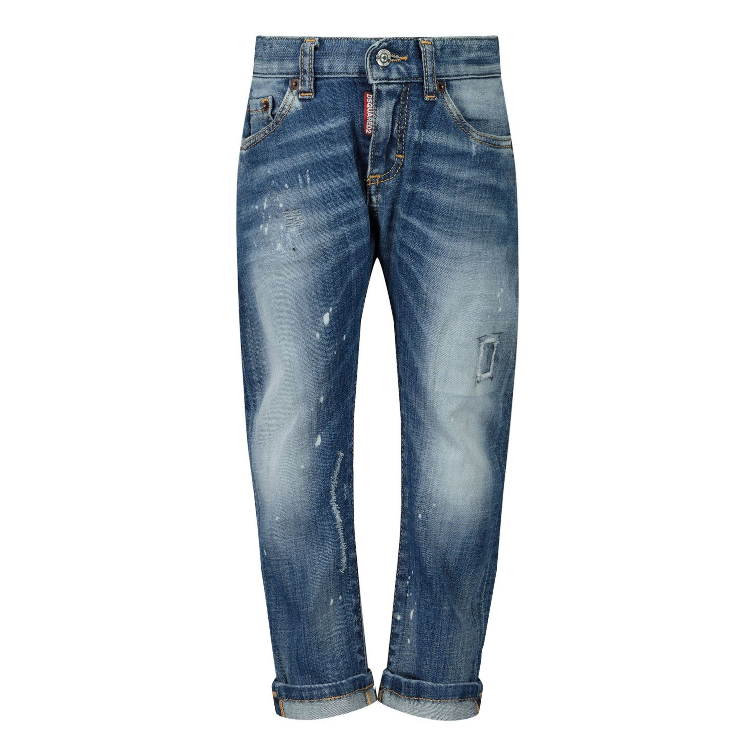 Picture of Dsquared2 DQ01TC D001M baby pants jeans