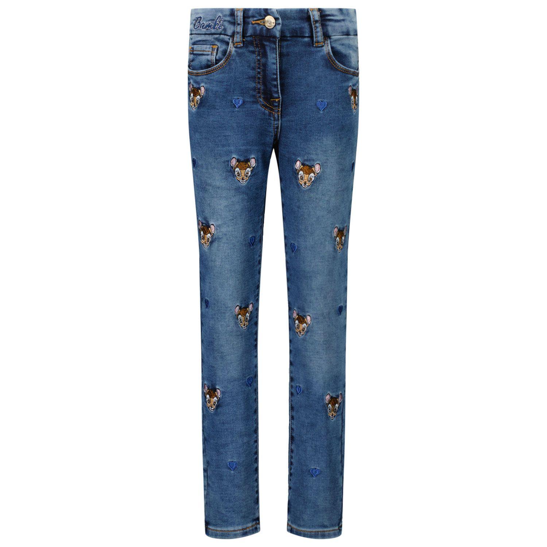 Picture of MonnaLisa 198415RH kids jeans jeans