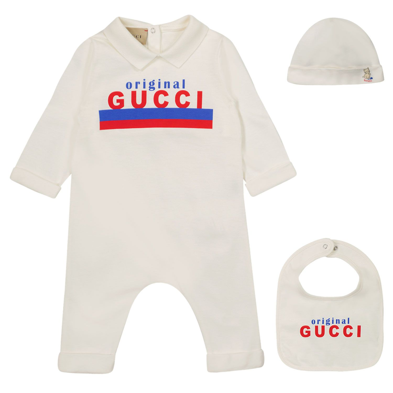 Afbeelding van Gucci 575145 boxpakje wit