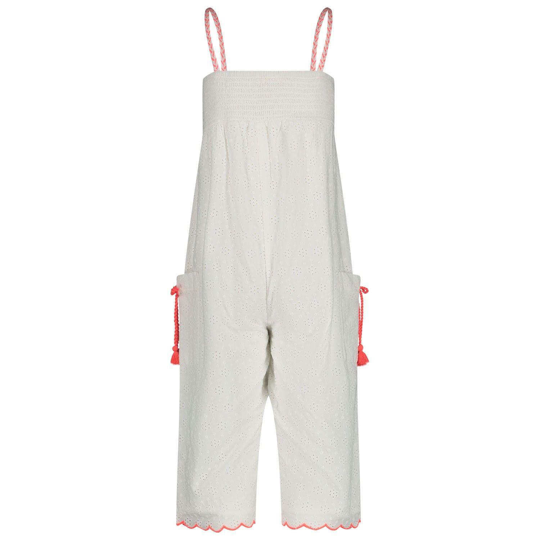 Afbeelding van BillieBlush U14355 kinder jumpsuit wit