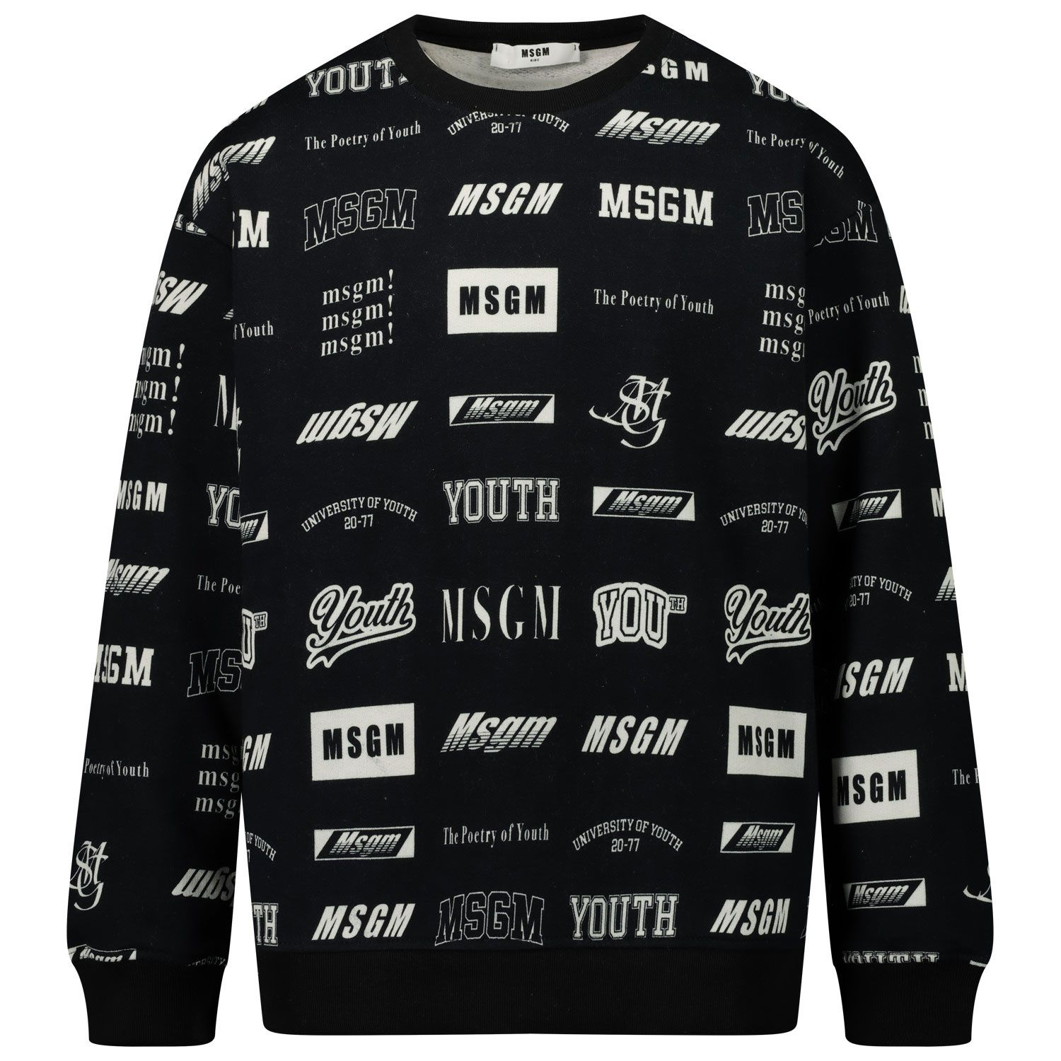 Picture of MSGM 26388 kids sweater black