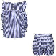 Afbeelding van Ralph Lauren 310835040 babysetje blauw