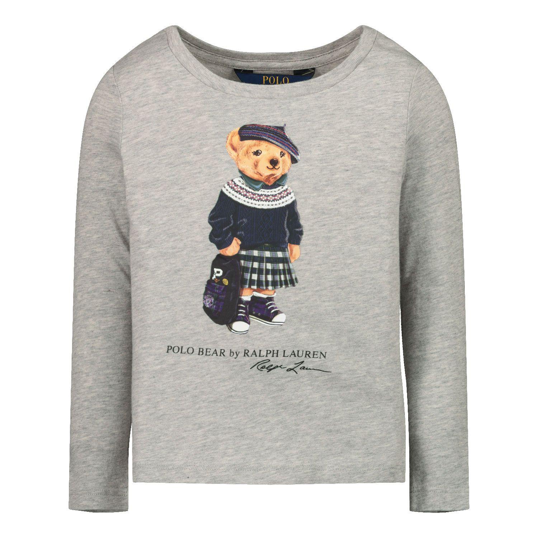 Picture of Ralph Lauren 809577 kids shirt grey