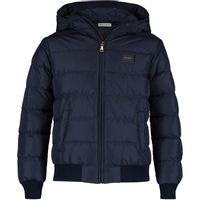Picture of Dolce & Gabbana L4JBS8 kids jacket navy