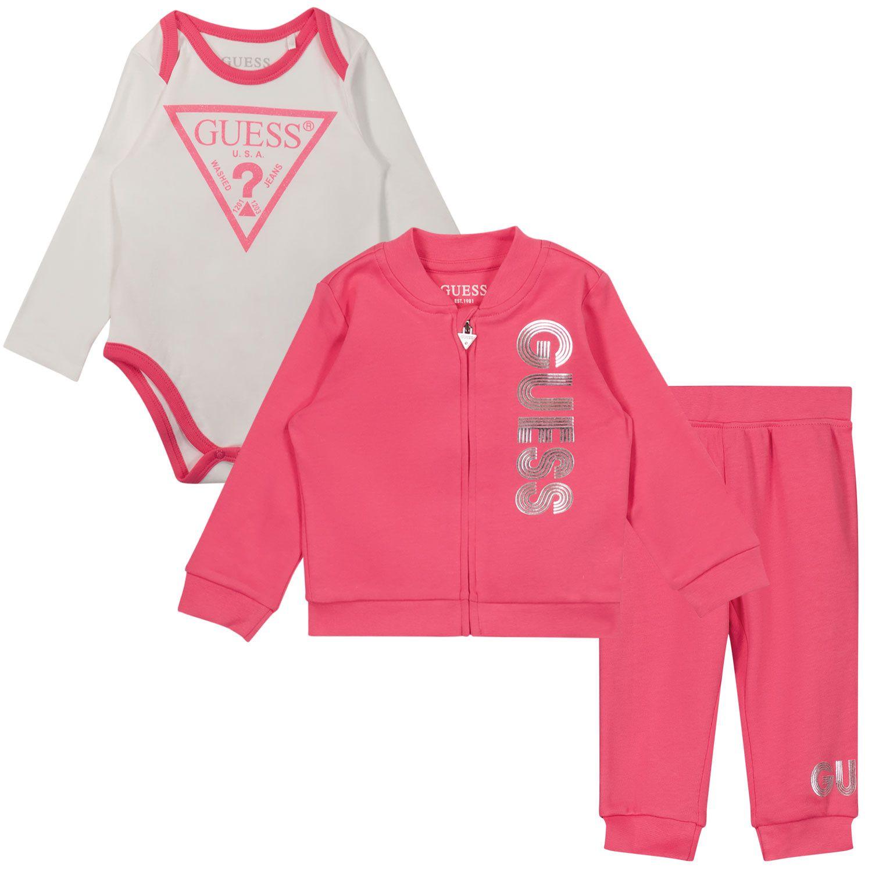 Bild von Guess H1YW05 Baby-Trainingsanzug Fuchsia