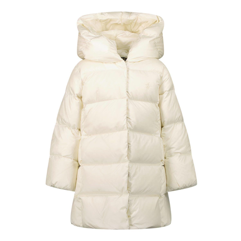Picture of Ralph Lauren 850581 kids coat off white