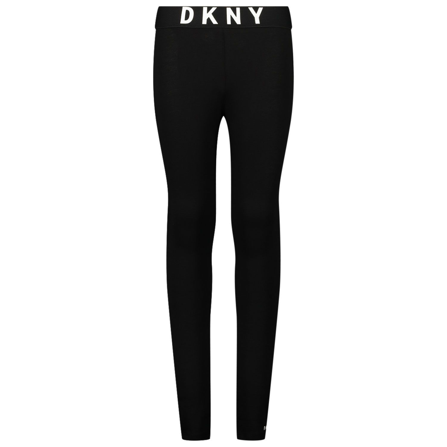 Picture of DKNY D34994 kids tights black