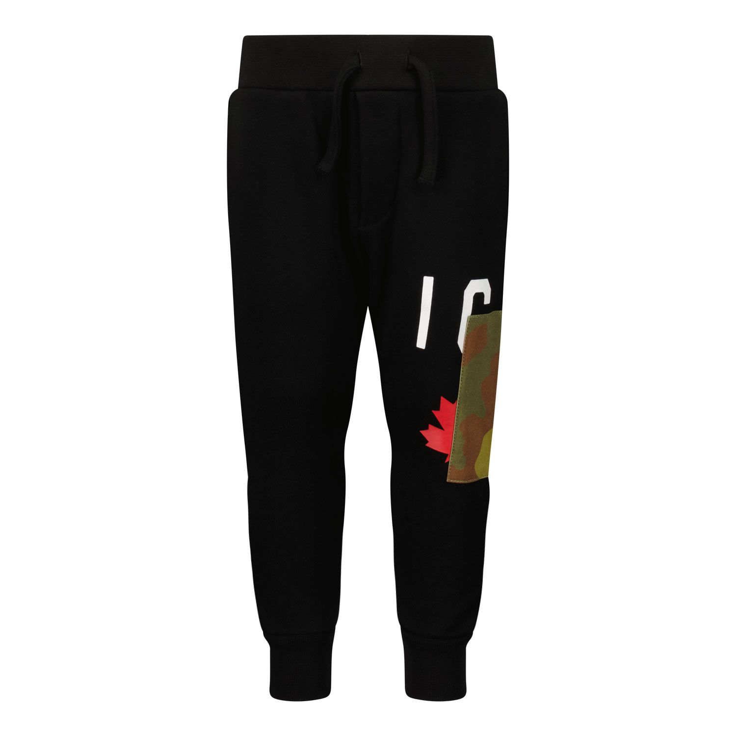 Picture of Dsquared2 DQ0620 baby pants black