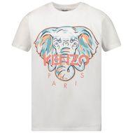Afbeelding van Kenzo K15105 kinder t-shirt wit
