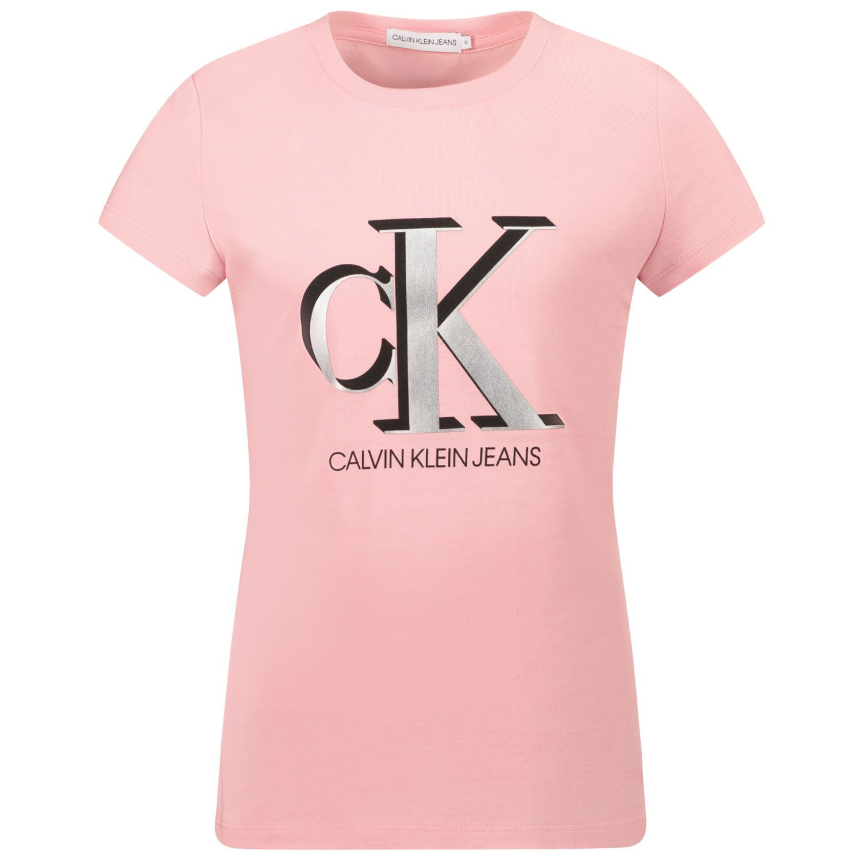 Picture of Calvin Klein IG0IG01018 kids t-shirt light pink