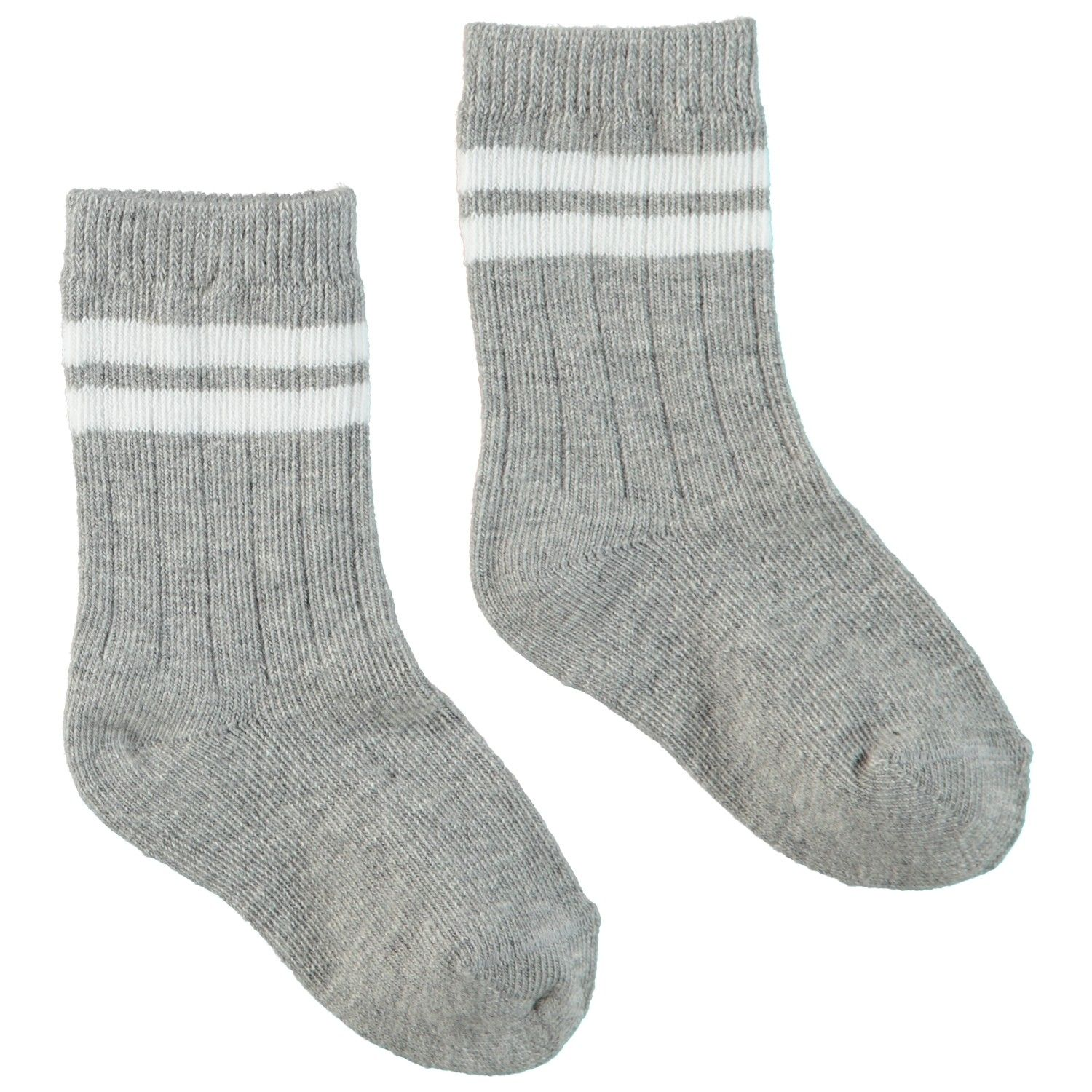 Picture of Bonnie Doon BN844103 baby socks light gray