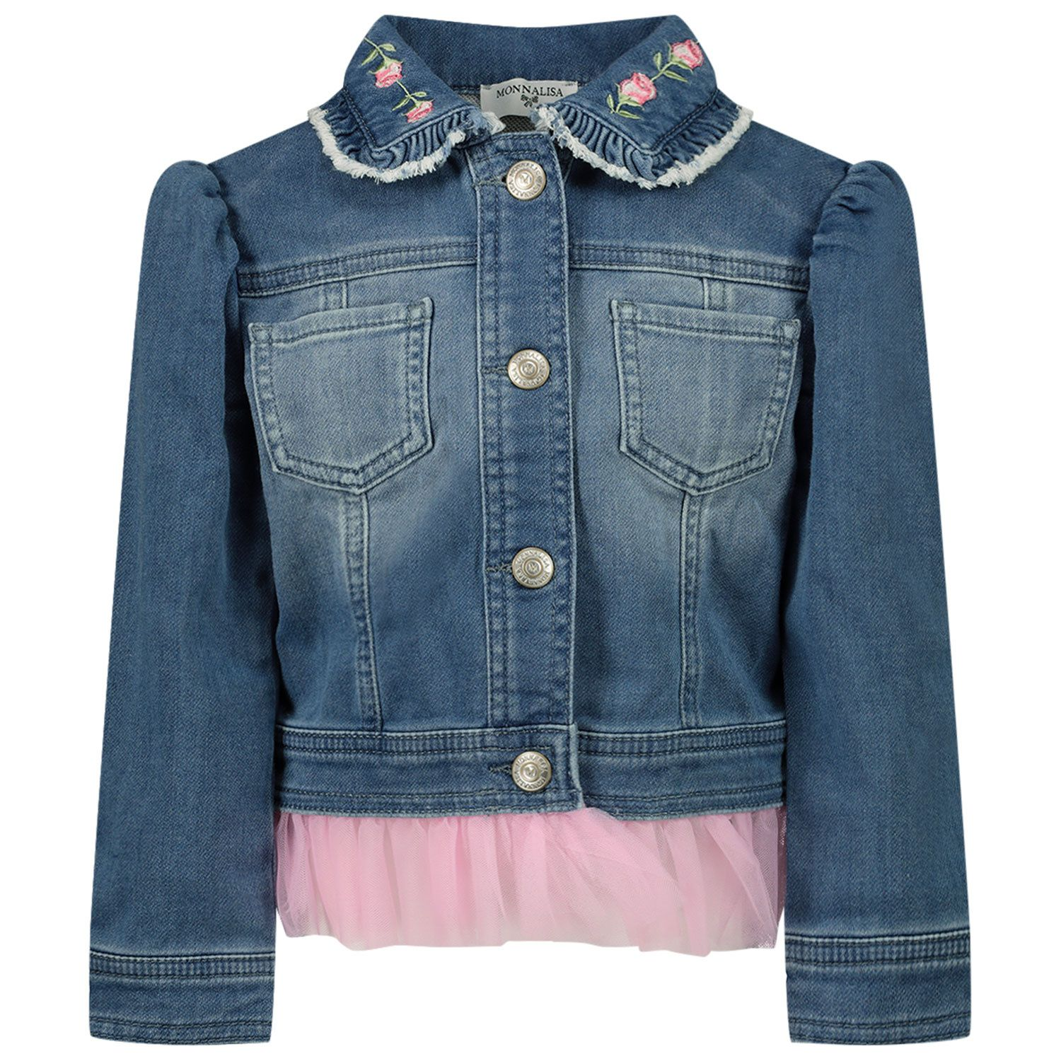 Picture of MonnaLisa 397101R5 baby coat jeans