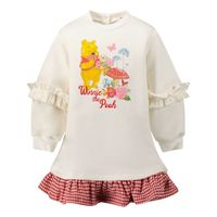 Picture of MonnaLisa 398905SS baby dress off white