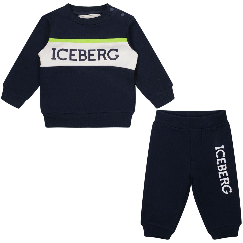 Bild von Iceberg CFICE2300 Baby-Trainingsanzug Marine