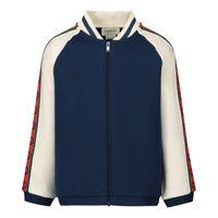 Picture of Gucci 591506 baby vest dark blue