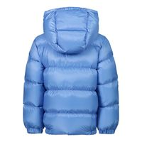 Picture of Moncler 1A53920 baby coat blue