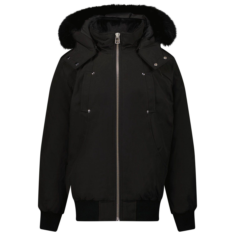 Picture of Moose Knuckles M31UB035 kids jacket black