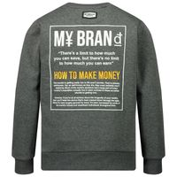 Picture of My Brand 3Y20005A0027 kids sweater grey