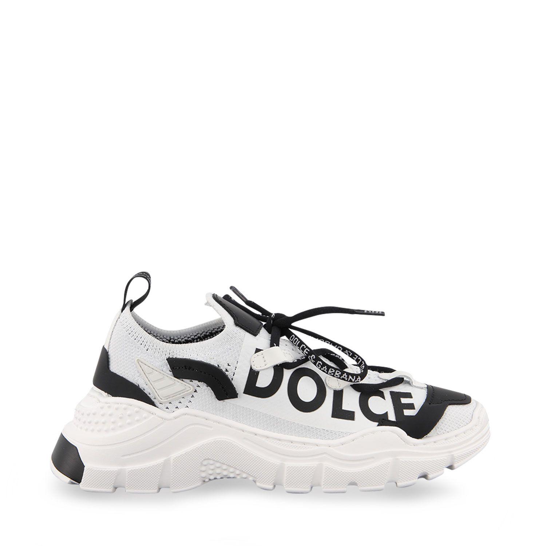 Picture of Dolce & Gabbana DA0978 AO262 kids sneakers white