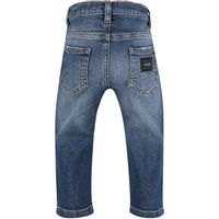 Picture of Dolce & Gabbana L11F98 baby pants jeans