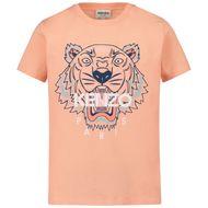 Afbeelding van Kenzo K15079 kinder t-shirt zalm