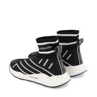 Picture of Dolce & Gabbana DA0943 AK472 kids sneakers black