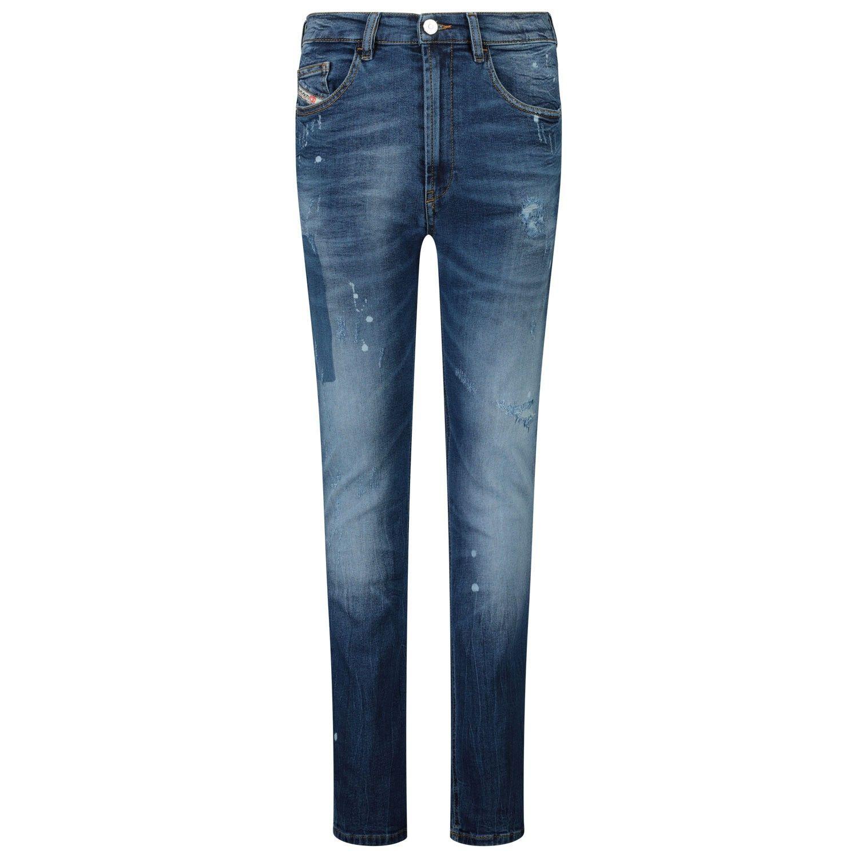 Afbeelding van Diesel 00J4ES KXB6E kinderbroek jeans