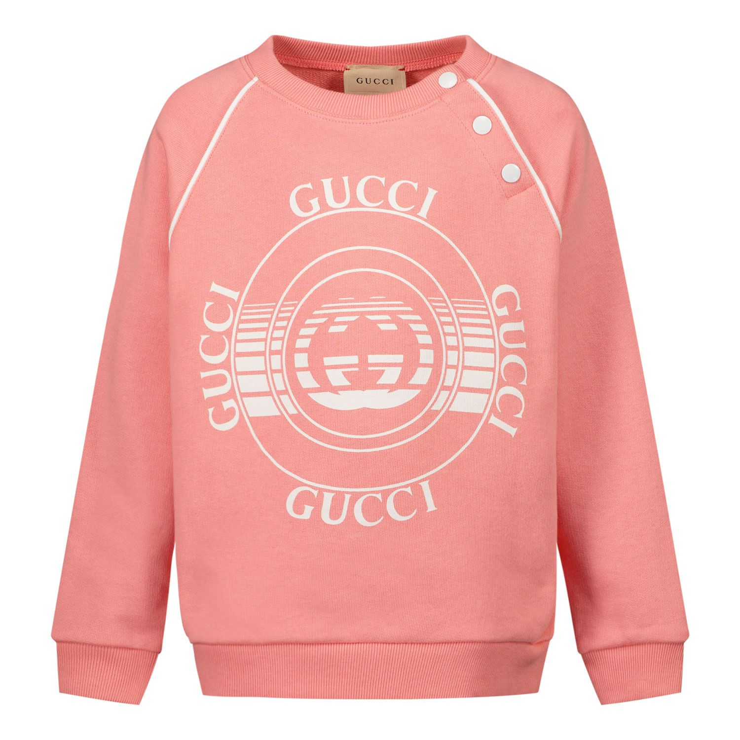 Picture of Gucci 647900 baby sweater salmon