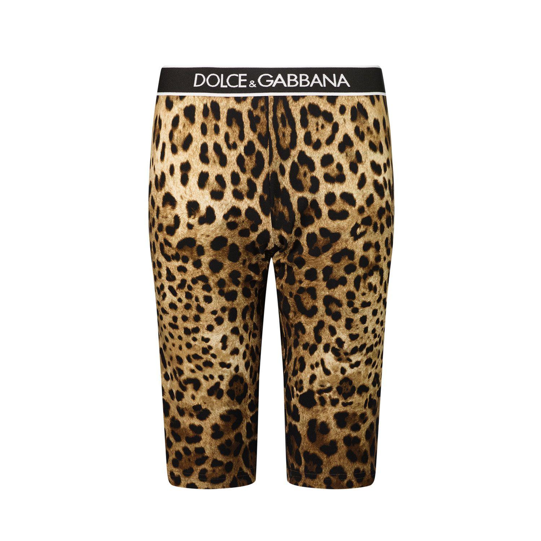 Picture of Dolce & Gabbana L5JQ68 G7BIK kids tights panther