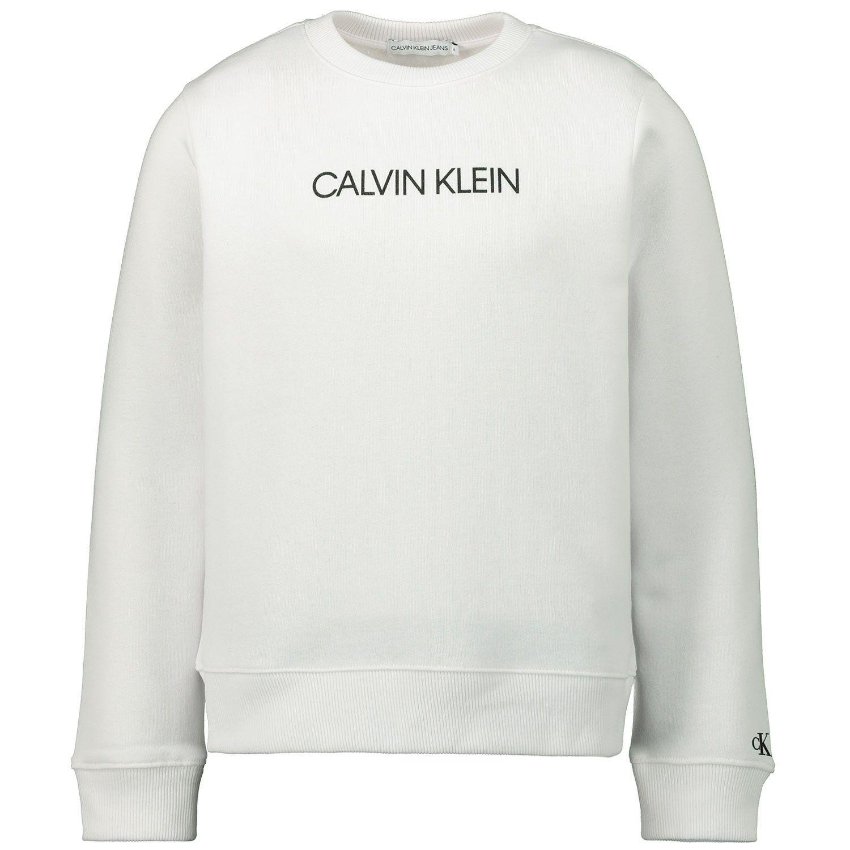Bild von Calvin Klein IU0IU00040 Kinderpullover Weiß