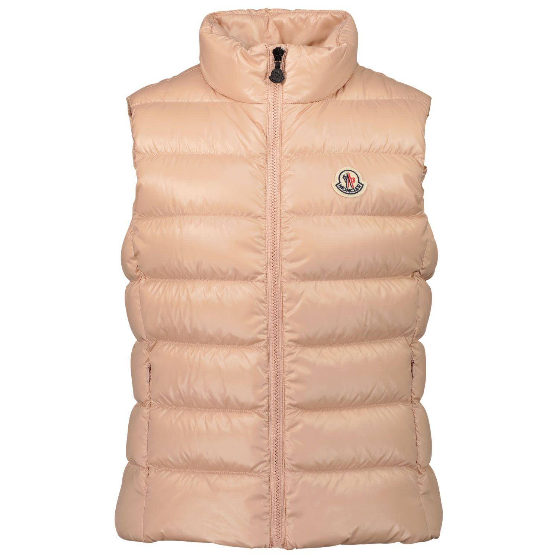 Afbeelding van Moncler 1A52810 kinder bodywarmer licht roze