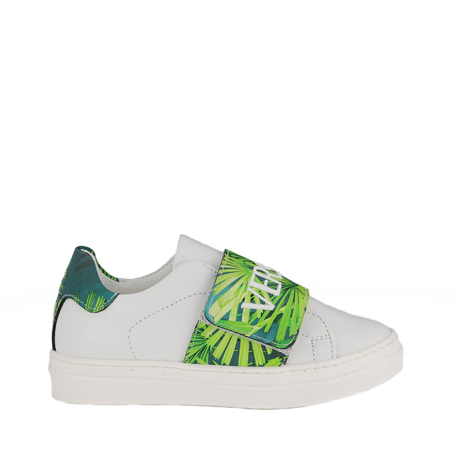 Picture of Versace YHX00010 kids sneakers white