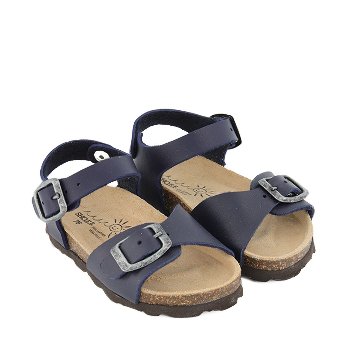 Picture of EB 5102 kids sandals navy