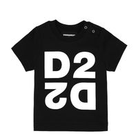 Picture of Dsquared2 DQ044H baby shirt black
