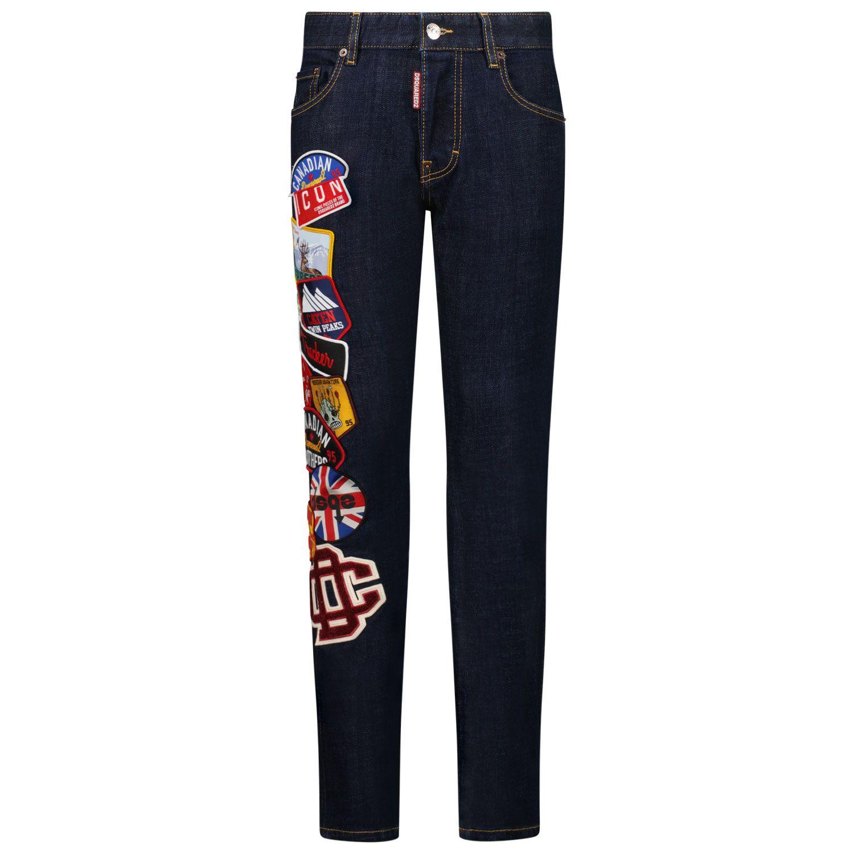 Picture of Dsquared2 DQ042L D006L kids jeans jeans