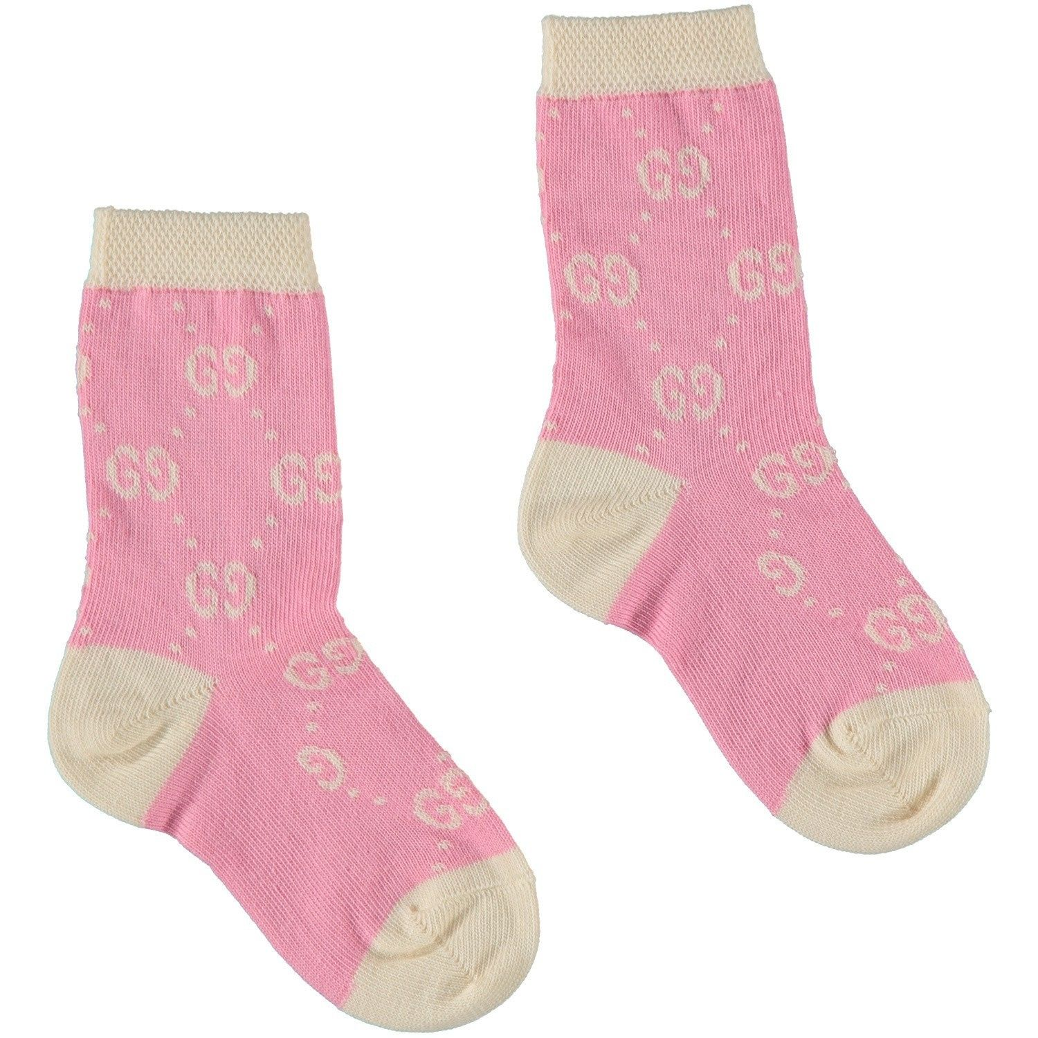 Picture of Gucci 557012 baby socks pink