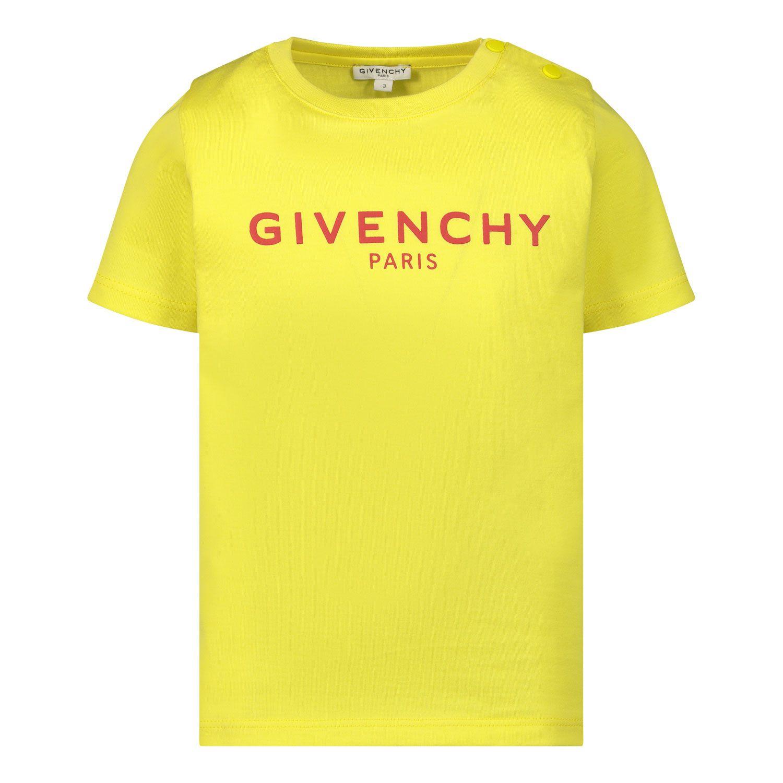 Bild von Givenchy H05M16 Baby-T-Shirt Gelb