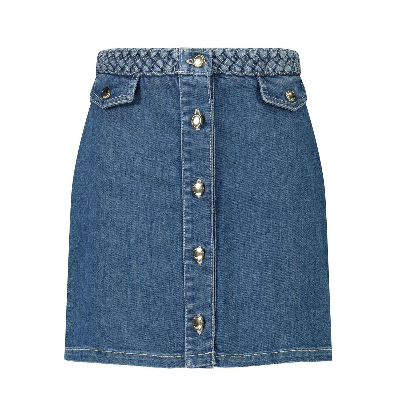 Afbeelding van Chloé C13251 kinderrokje jeans