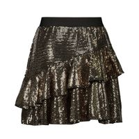Picture of Pinko 25945 kids skirt gold