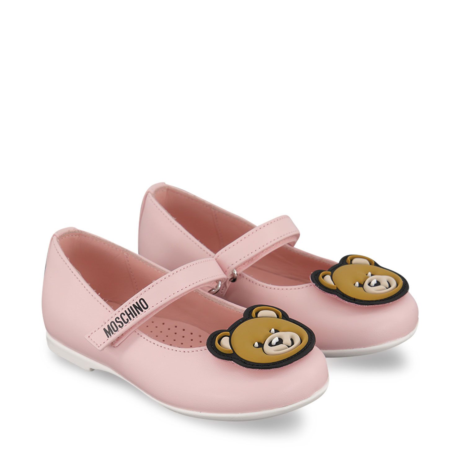 Picture of Moschino 67367 kids sandals light pink