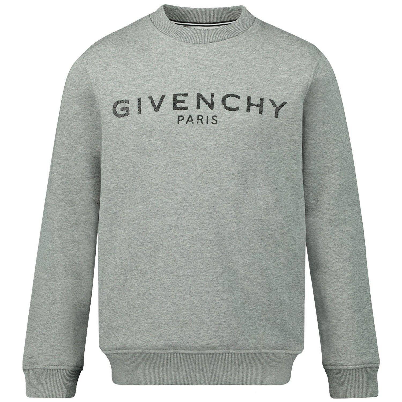 Afbeelding van Givenchy H25145 kindertrui grijs