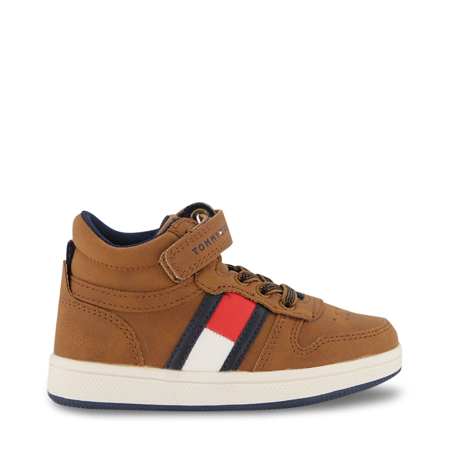 Picture of Tommy Hilfiger 32049 kids sneakers camel