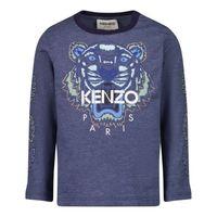 Picture of Kenzo K05114 baby shirt dark blue