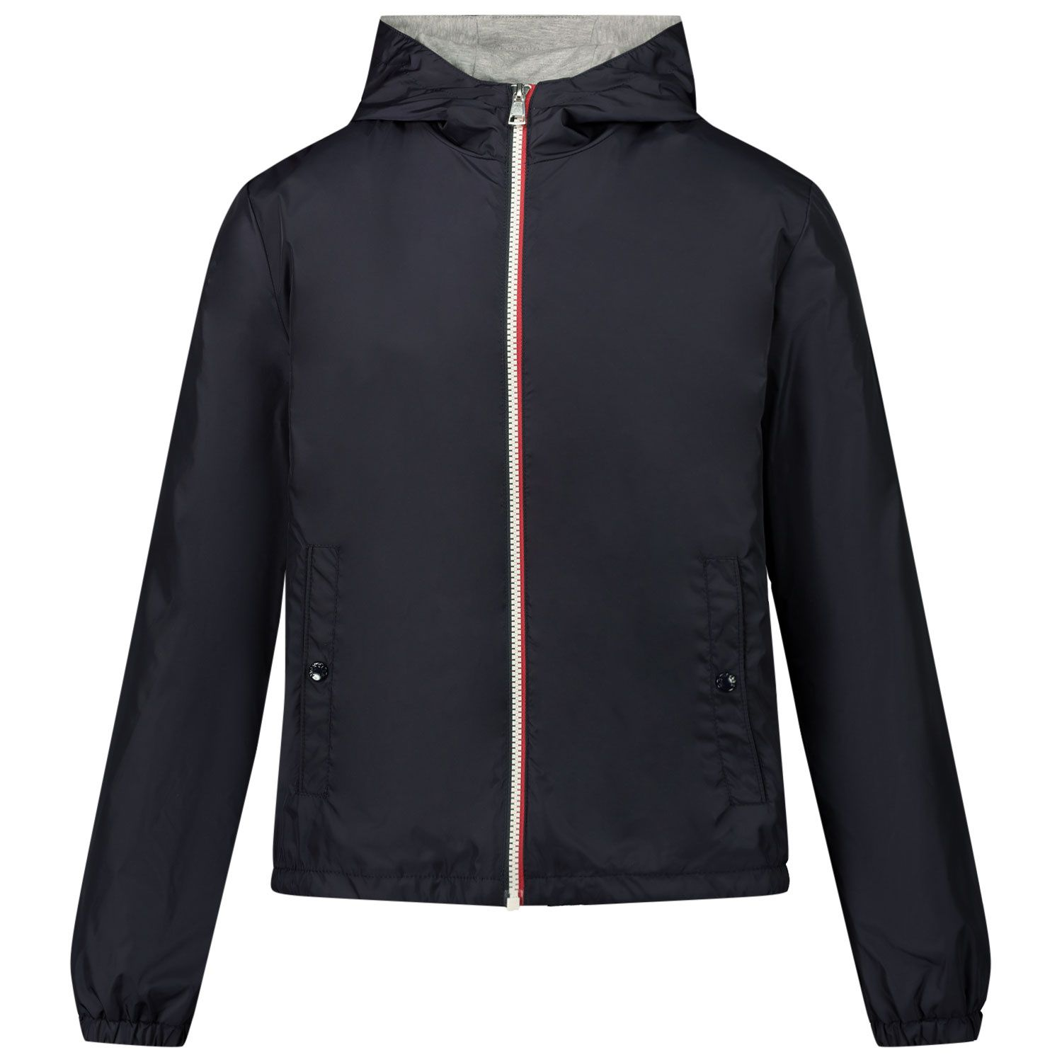 Picture of Moncler 1A72220 kids jacket navy
